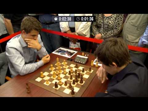 ♚ GM Magnus Carlsen vs GM Sergey Karjakin Chess Blitz Tal Memorial Round 6