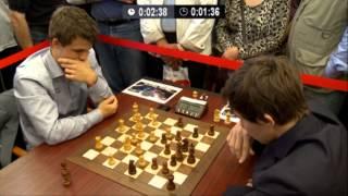♚ GM Magnus Carlsen vs GM Sergey Karjakin Chess Blitz Tal Memorial Round 6
