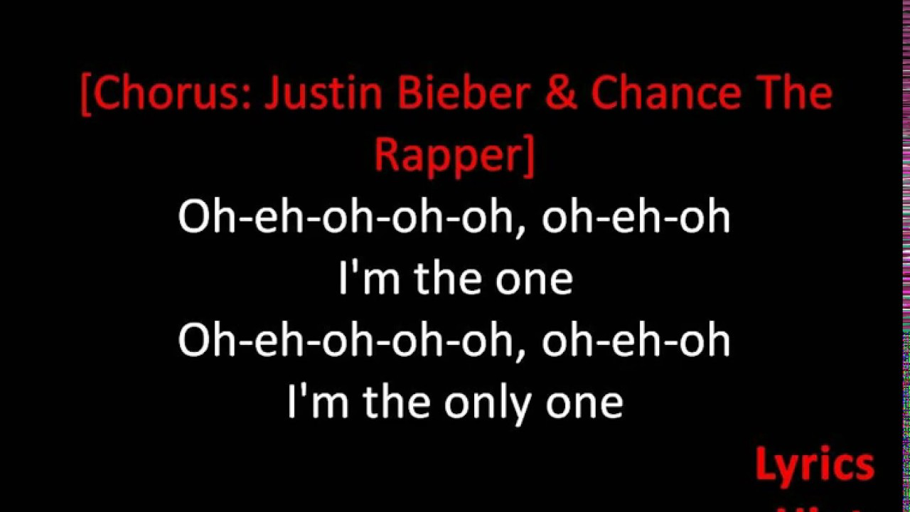 DJ Khaled Im The One Ft Justin Bieber Quavo Chance The