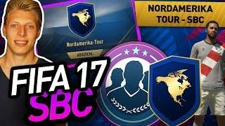 FIFA 17 SBC: NORDAMERIKA TOUR SBC ABGESCHLOSSEN + NEUES TRIKOT - SQUAD BUILDING CHALLENGES