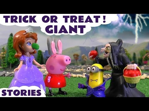 Halloween Trick Or Treat Stories | Peppa Pig Play Doh Thomas and Friends Minions Sofia The First