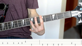 Queen - Another One Bites The Dust (Bass Tutorial with TABS)