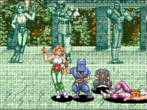 Power Instinct (Arcade) Playthrough as Annie Hamilton