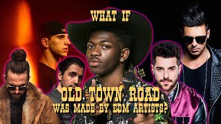 "WHAT IF ""OLD TOWN ROAD"" BY LIL NAS X WAS MADE BY OTHER ARTISTS? - ANGEMI"