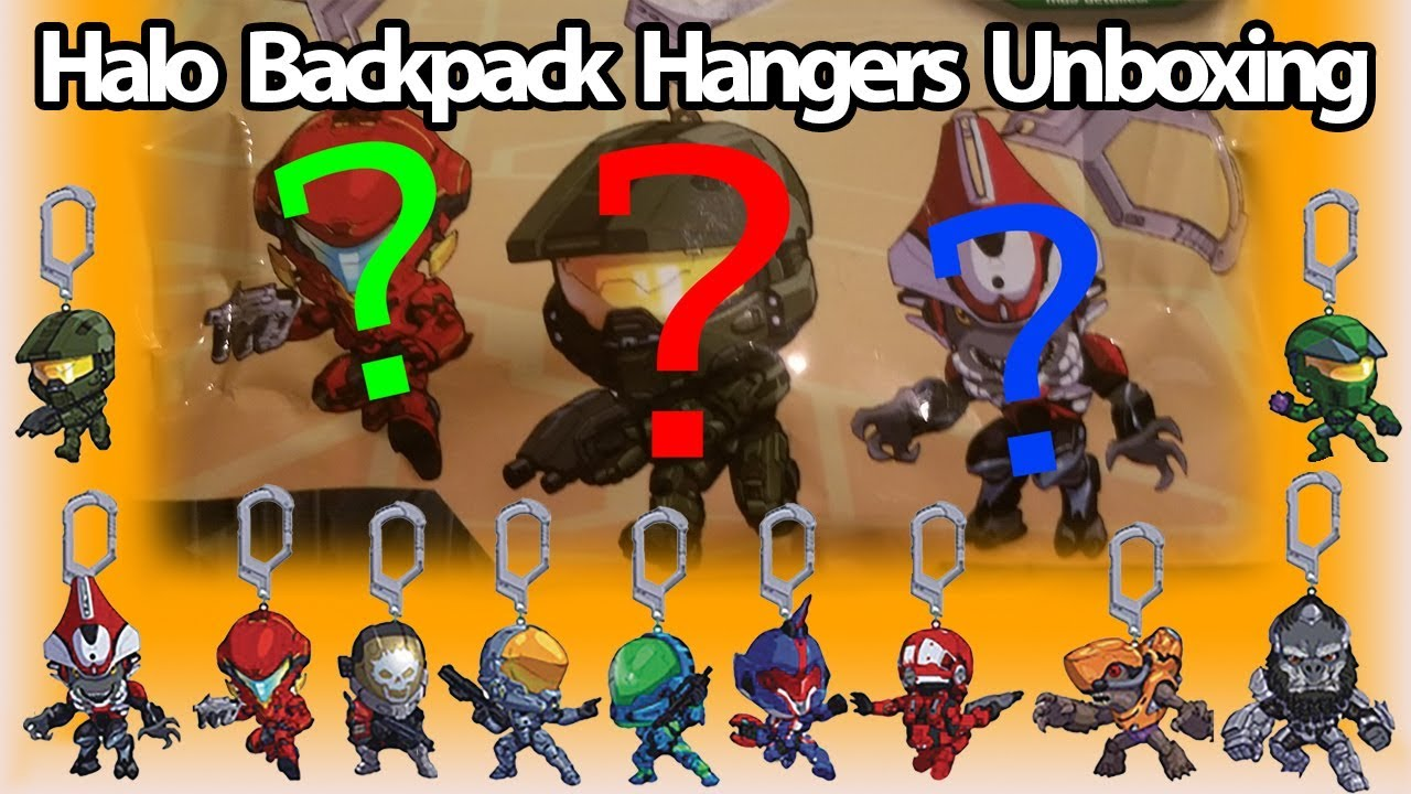 halo backpack hangers unboxing