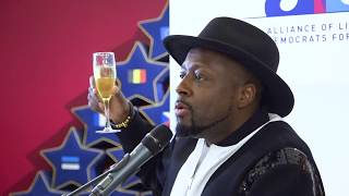 Wyclef's speech on the copyright directive @European Parliament