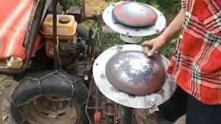 Роторная косилка своими руками для мини трактора #3