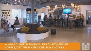 VIDEO: Sip, shop and smoke -- weed -- at new Phoenix lounge