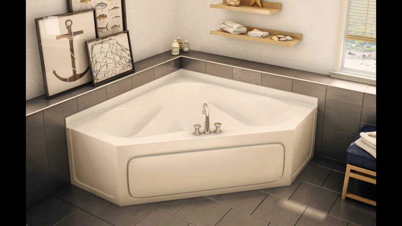 Bathroom_ Corner Bathtubs For Small Bathrooms - YouTube