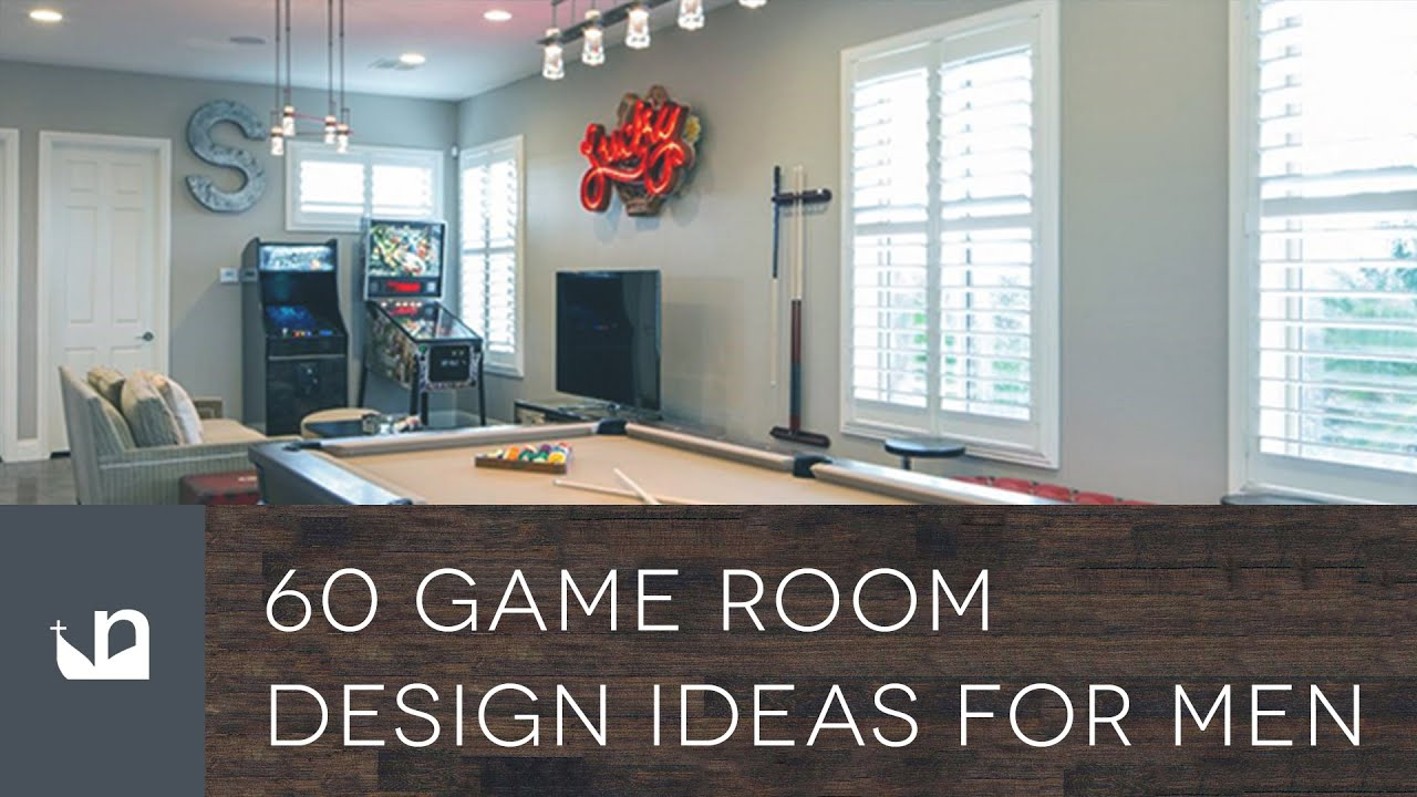 60 Game Room Design Ideas For Men