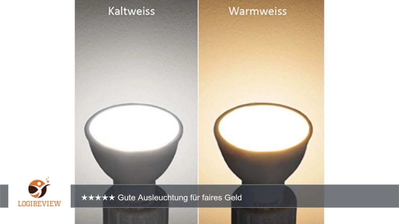 Tiwin gu10 led a lampe ersetzt 60w warmweiss 2700k 540 lumen tiwin gu10 led a lampe ersetzt 60w warmweiss 2700k 540 lumen 65w 110 grad abstrahlwinkel parisarafo Images
