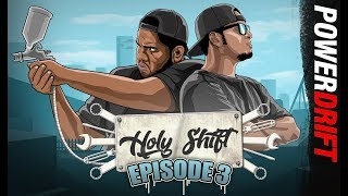 A smurfed out Pulsar and a chopped KTM 390 Duke : Holy Shift : Episode 3 : PowerDrift