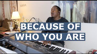 Because of Who You Are - Martha Munizzi Cover - Jared Reynolds