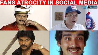 Top Tamil Actors Biggest Fan Base In Social Media | Karan | Abbas | Vineeth