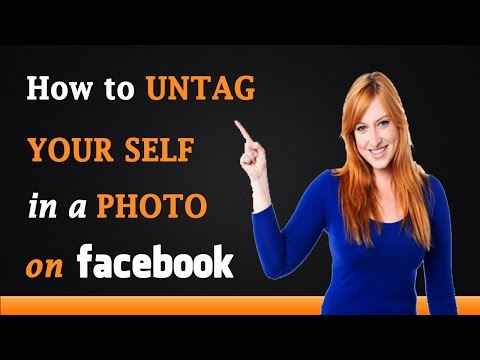 How to UnTag Yourself in a Photo on Facebook