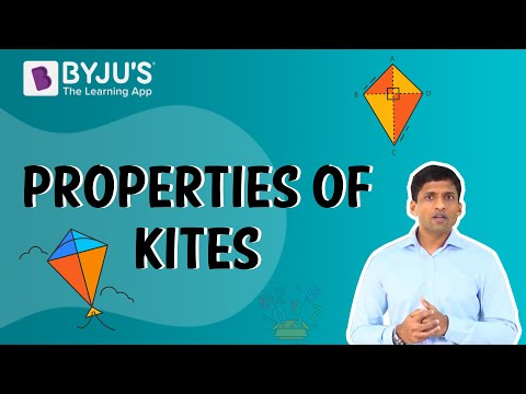 Understanding Quadrilaterals 06 - Properties of Kites