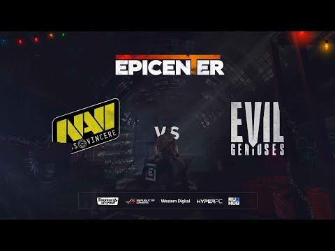 Natus Vincere Vs Evil Geniuses - EPICENTER 2019 - Map2 - De_dust2 [STRIKE & SSW]