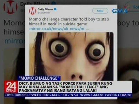 'Momo challenge,' aalamin kung may kinalaman sa pagkamatay ng bata