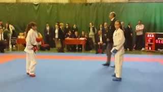 Варвара Шебанова (финал) - 2 место (1:2)