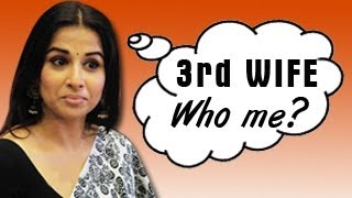 Vidya balan to be siddharth roy kapoor's third wife