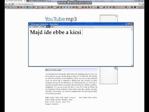 Youtube MP3 Zenék letöltése. !!GYORSAN!!