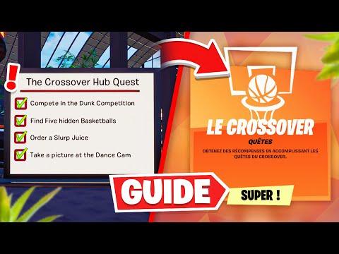 GUIDE COMPLET des QUÊTES/DÉFIS du CROSSOVER de NBA x FORTNITE !