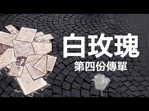 解读白玫瑰第四份传单(历史上的今天特刊20190707第4期)