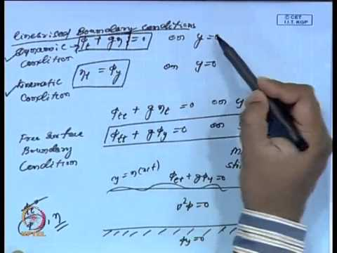 Mod-18 Lec-22 Basic Equation and Conditions of Water Waves