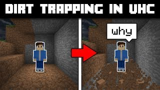 Hypixel UHC | Dirt Trapping Ft. Anglat and CamFightMe!