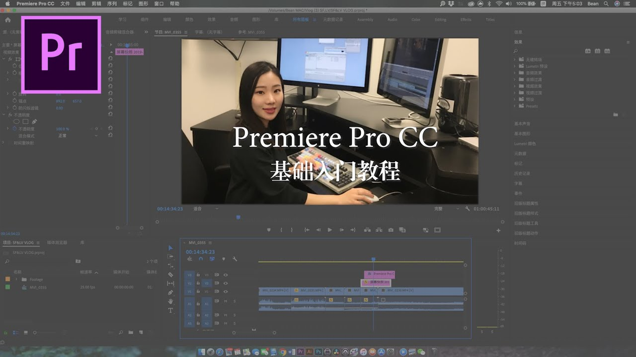 Download PR Tutorial   史上最简单最全!Premiere 基础剪辑入门教程