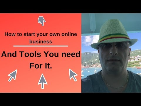 How do you start your own online business. Tools you need for your online business. thumbnail