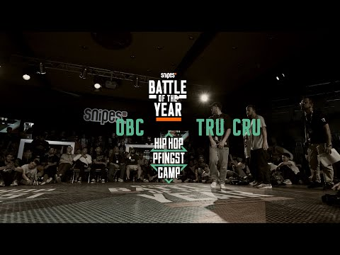 OBC Vs Tru Cru | 3vs3 Top 16 | Hip Hop Pfingstcamp X Snipes BOTY CE 2019