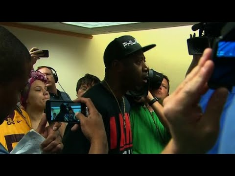 Protester to mayor: 'You have failed us'