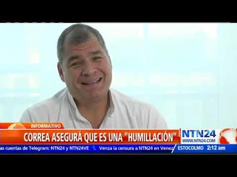 Interpol rechazó la petición de Ecuador y no capturará a Rafael Correa