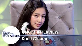 TWBA Uncut Interview: Kaori Oinuma