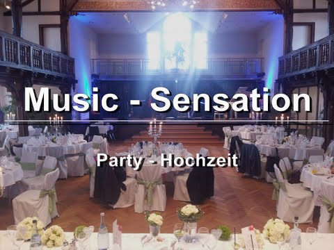 music sensation Party - Hochzeit
