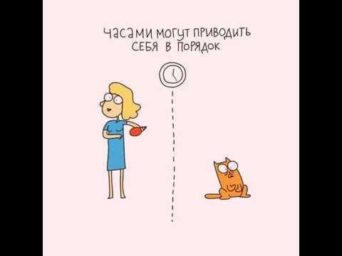 Сходство кошки и женщины