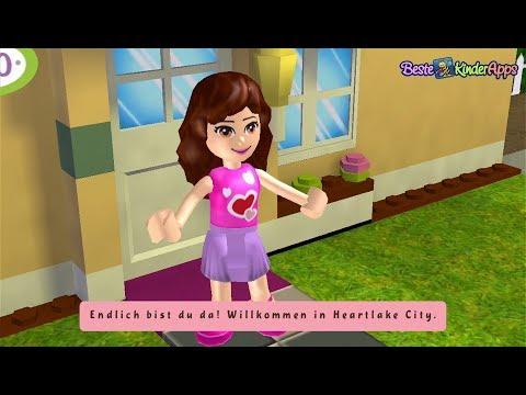Lego Friends 💖 Willkommen In Heartlake City 💖 App Spiel Für Mädchen