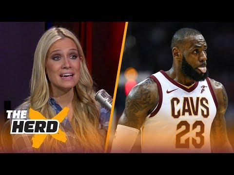 Cavs are 11th in the east, Lonzo shooting 29% from the field - Kristine and Colin React   THE HERD