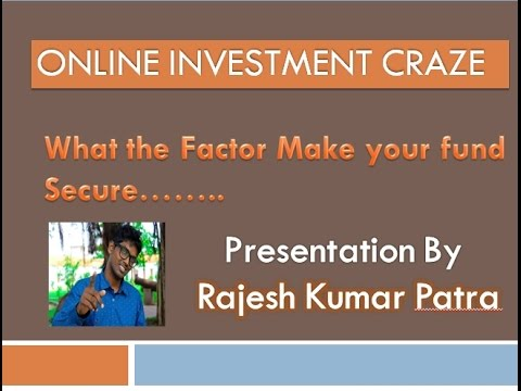 Online Investment Pros & Cons, Capital Safety & Learning Craze