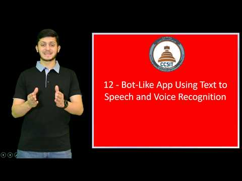 WinForm Tutorial Using C# 12 - Bot Like App Using Text to Speech and Voice Recognition