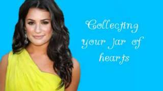 Glee - Jar of Hearts (Lyrics)