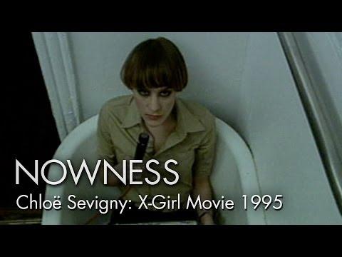 """Chloë Sevigny in """"X-Girl Movie 1995"""" by Phil Morrison"""