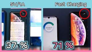ทดสอบ iPhone ชาร์จเร็ว vs ชาร์จธรรมดา ต่างกันขนาดไหน ? คุ้มไหมถ้าจะซื้อเพิ่ม ??