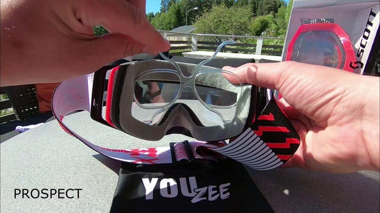 YouZee Clip In - instead of glasses under your goggles! - YouTube 131d7c178747d
