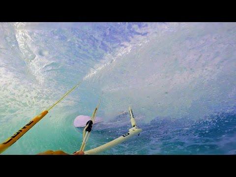 Kitesurfing  Indonesia - Two Kites , Two Boards + Two Wheels