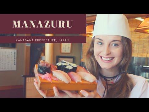 Making my own sushi! Exploring Manazuru - Kanagawa Prefecture!🍣