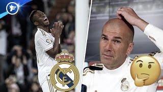 Le Real Madrid et Zinedine Zidane commencent à douter de Vinícius Júnior | Revue de presse