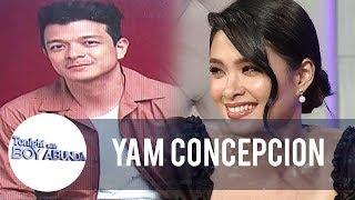 Wet, Wild or Sweet? Yam Concepcion describes her kissing scenes | TWBA