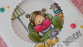 A Novel Birthday  -  MFT & Mama Elephant
